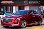 2016 Cadillac CTS Luxury Collection AWD DrvrAwrnssPkg Bose Nav 17Alloys  in Thornhill, Ontario
