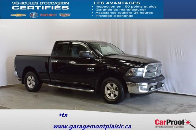 2013 Dodge RAM 1500 ST in Drummondville, Quebec