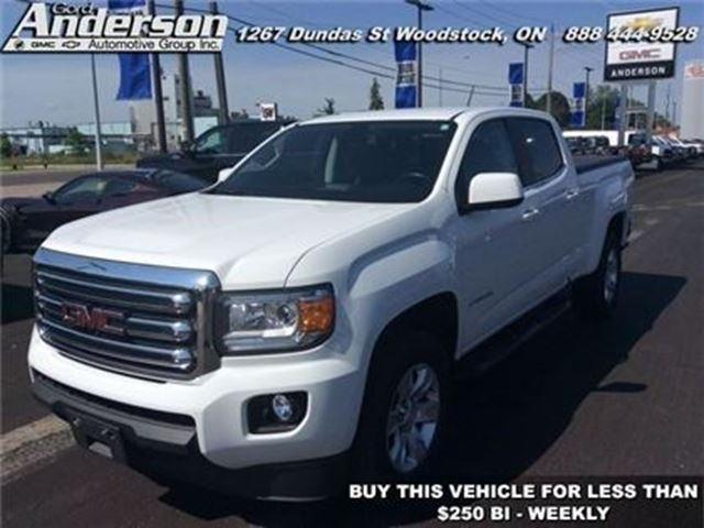 2015 GMC Canyon SLE - Bluetooth -  Onstar - Low Mileage in Woodstock, Ontario