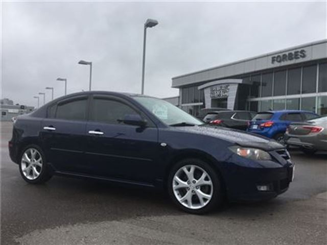 2008 Mazda MAZDA3 GT\ ''AS IS'' SPECIAL\ LEATHER\SUNROOF\ in Waterloo, Ontario