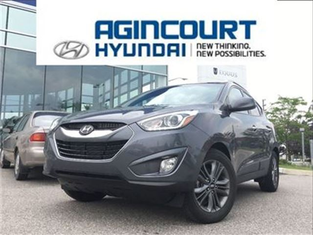 2015 Hyundai Tucson GLS AWD/LEATHER/PANO ROOF/OFF LEASE/ONLY 38968KMS in Toronto, Ontario