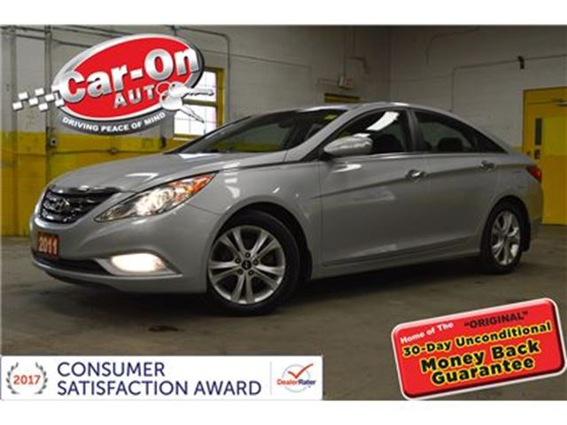 2011 HYUNDAI SONATA LIMITED LEATHER SUNROOF NAV LOADED ONLY 46000KM in Ottawa, Ontario
