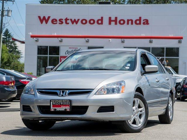 2007 HONDA ACCORD SE in Port Moody, British Columbia