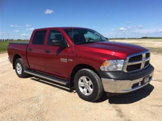 2014 DODGE RAM 1500 SXT Crew 4x4 w/Back-Up Cam *Hemi* in Winnipeg, Manitoba