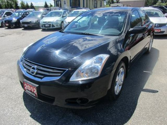 2012 Nissan Altima POWER EQUIPPED 'S' TYPE 5 PASSENGER 2.5L - DOHC in Bradford, Ontario