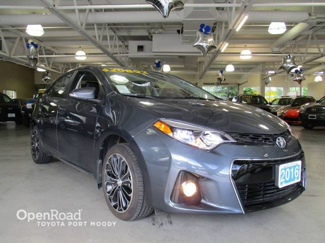 2016 TOYOTA COROLLA S Upgrade - Sunroof, Bluetooth, Backup Camera in Port Moody, British Columbia