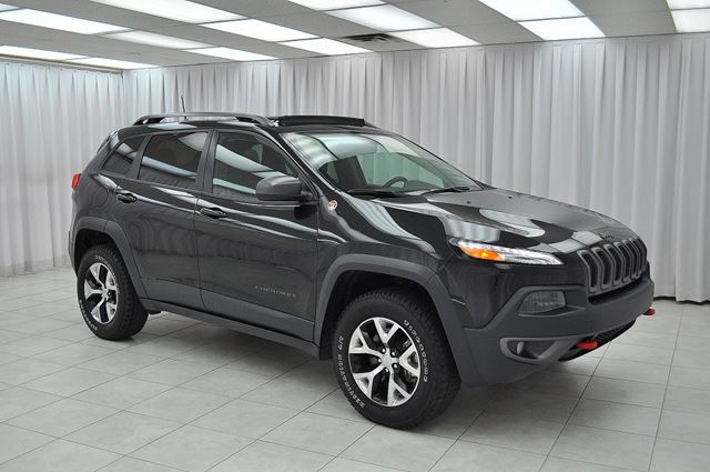 2016 Jeep Cherokee TRAIL HAWK V6 TRAIL RATED 4x4 SUV w/ HEATED LEA in Dartmouth, Nova Scotia