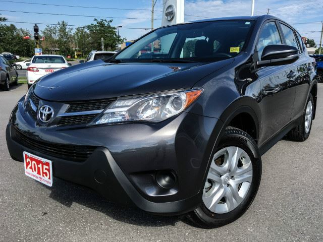 2015 Toyota RAV4 LE LE AWD+XTRA WARRANTY! in Cobourg, Ontario