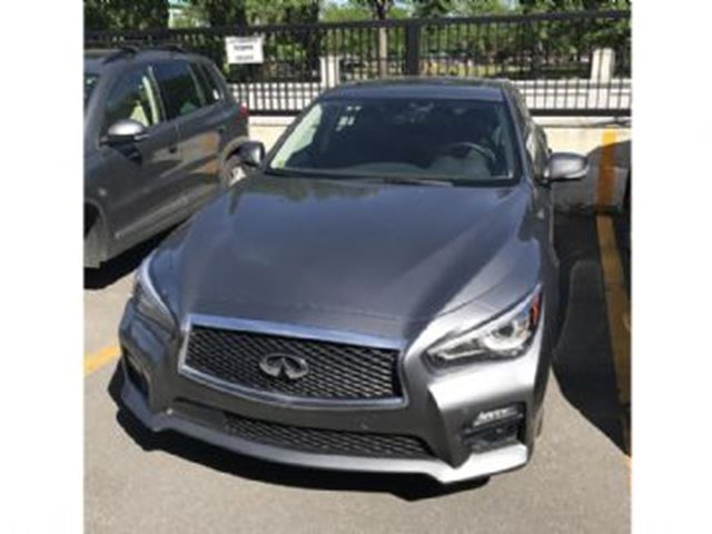 2016 Infiniti Q50 sport 3.0 Turbo Fully loaded w/ Technology Package in Mississauga, Ontario
