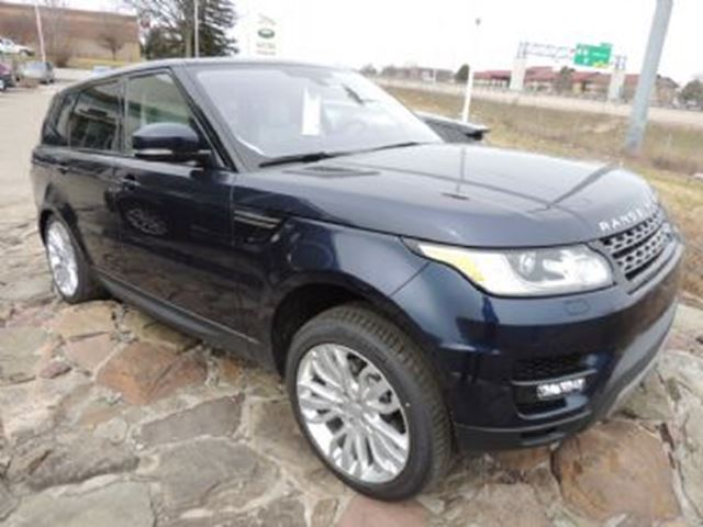 2016 Land Rover Range Rover Sport 3.0 Litre LR-TD6 Diesel HSE Premium and Tow Packs + + in Mississauga, Ontario