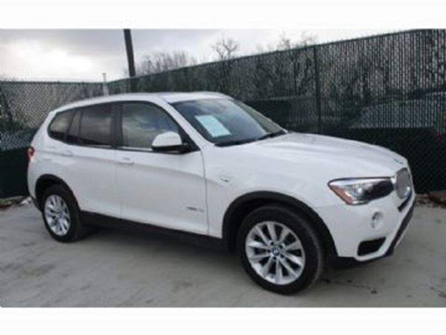 2016 BMW X3 28i in Mississauga, Ontario