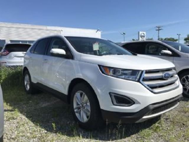 2017 FORD EDGE SEL FWD w/ Heated steering wheel in Mississauga, Ontario