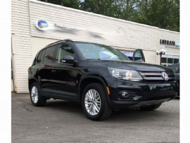 2015 Volkswagen Tiguan 4MOTION Special Edition, Panoramic Roof + + + in Mississauga, Ontario
