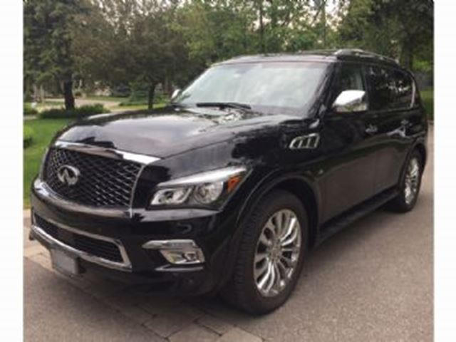 2016 Infiniti QX80 4WD  7-Passenger w/Tech Pkge & Winter Tires in Mississauga, Ontario