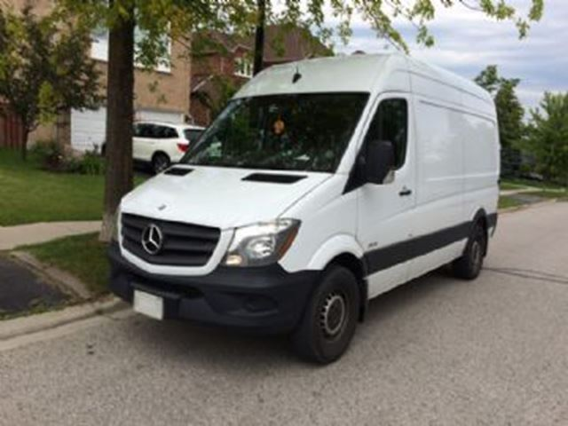2015 mercedes benz sprinter 2500 144 high roof diesel mississauga ontario car for sale 2814759. Black Bedroom Furniture Sets. Home Design Ideas