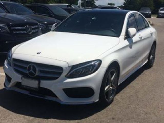 2016 MERCEDES-BENZ C-CLASS C300 4Matic Sedan in Mississauga, Ontario