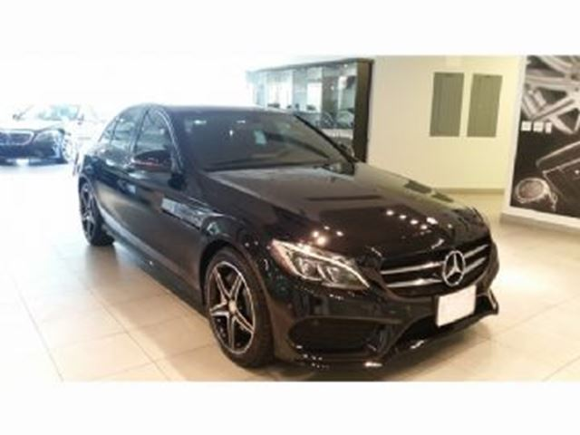 2016 MERCEDES-BENZ C-CLASS 4dr Sdn C 300 4MATIC PremiumPlus Package in Mississauga, Ontario