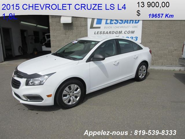 2015 chevrolet cruze 1ls shawinigan quebec car for sale 2814495. Black Bedroom Furniture Sets. Home Design Ideas