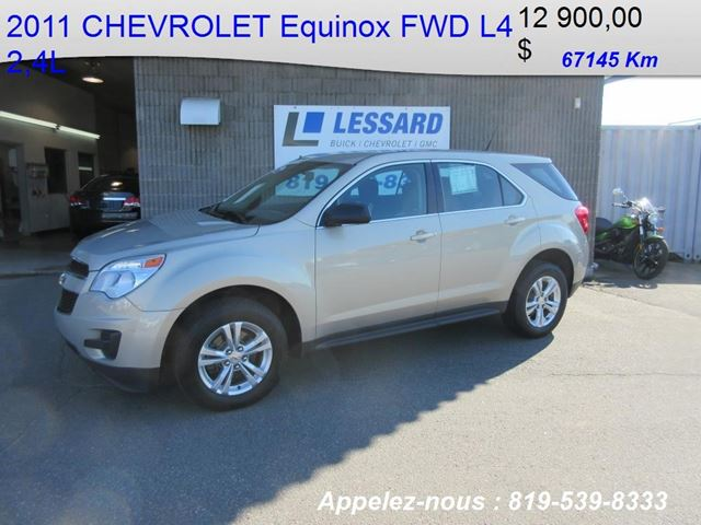 2011 Chevrolet Equinox LS in Shawinigan, Quebec