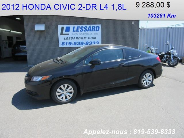 2012 Honda Civic LX in Shawinigan, Quebec