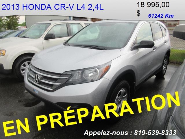 2013 Honda CR-V LX in Shawinigan, Quebec