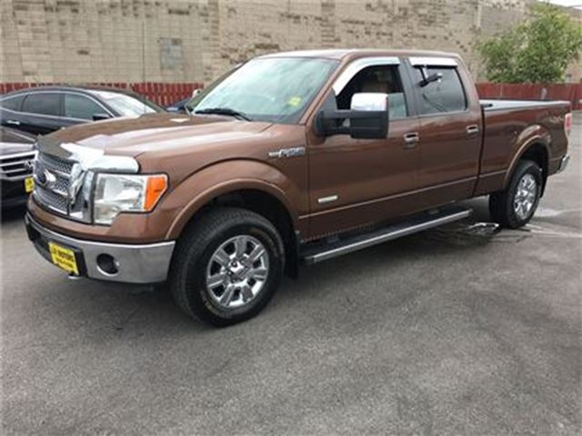 2012 ford f 150 lariat crew cab leather heated seats 4x4 burlington ontario car for sale. Black Bedroom Furniture Sets. Home Design Ideas