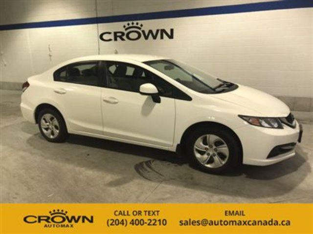 2013 Honda Civic 4dr Auto LX in Winnipeg, Manitoba