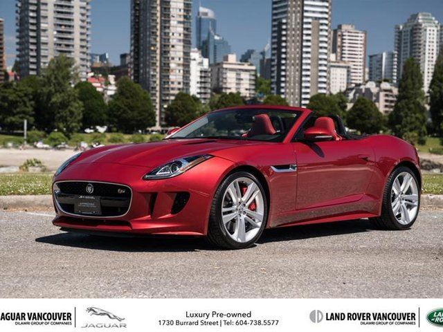 2014 Jaguar F-TYPE Convertible V8 S in Vancouver, British Columbia