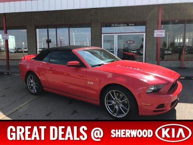 2014 FORD MUSTANG GT CONVERTIBLE Accident Free, Leather, A/C, - Edmonton in Sherwood Park, Alberta
