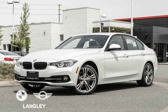 2017 BMW 3 SERIES Sport Line, Premium Package Enhanced, AND Smart in Langley, British Columbia