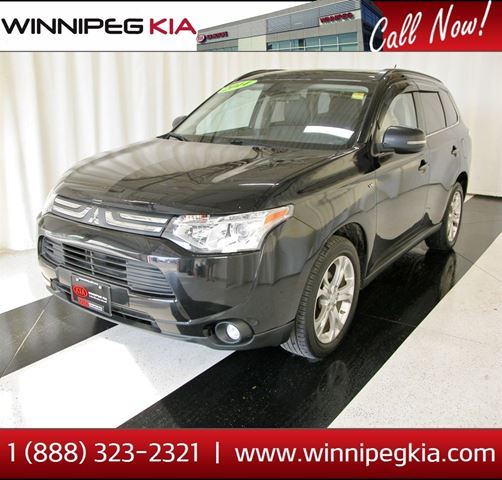 2014 MITSUBISHI OUTLANDER GT *Accident Free!* in Winnipeg, Manitoba