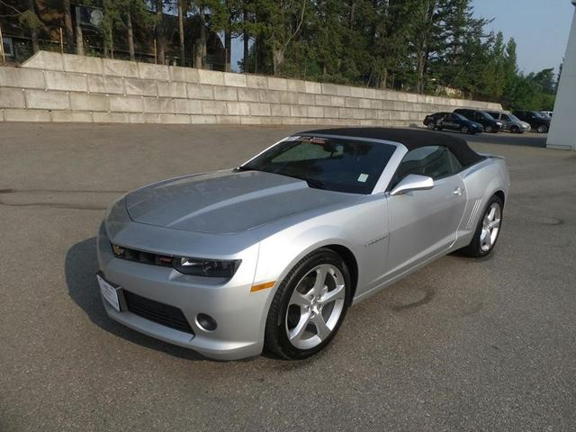 2015 Chevrolet Camaro LT in Salmon Arm, British Columbia