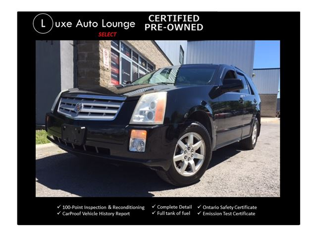 2007 CADILLAC SRX FRESH TRADE-IN! NAVIGATION, PANORAMIC SUNROOF, SATELLITE RADIO, BOSE AUDIO, LOADED!!  in Orleans, Ontario