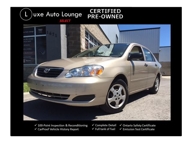 2006 Toyota Corolla CE - AUTO, A/C, CD, FRESH TRADE-IN! in Orleans, Ontario