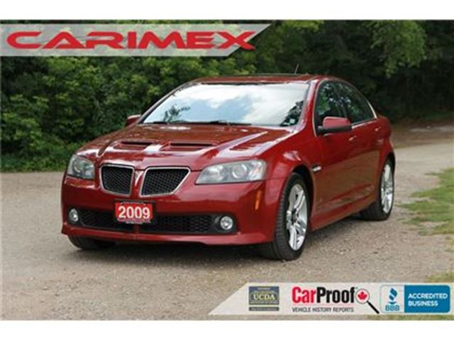 2009 PONTIAC G8 Base Leather   Sunroof   CERTIFIED in Kitchener, Ontario