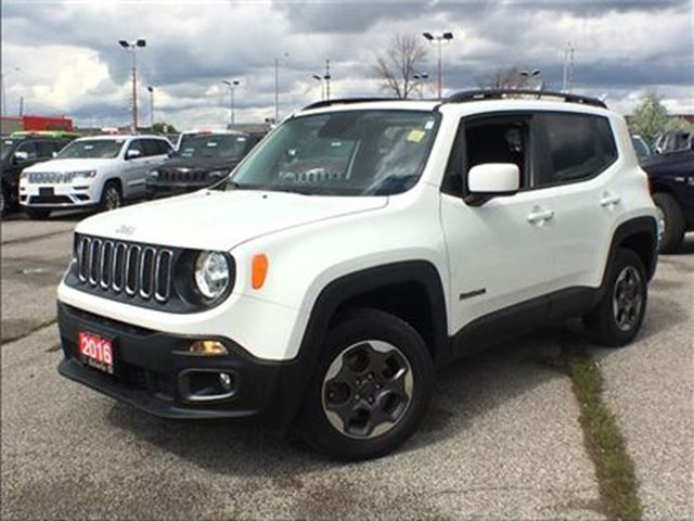 2016 Jeep Renegade NORTH**NAV**BACK UP CAM**BLUETOOTH** in Mississauga, Ontario