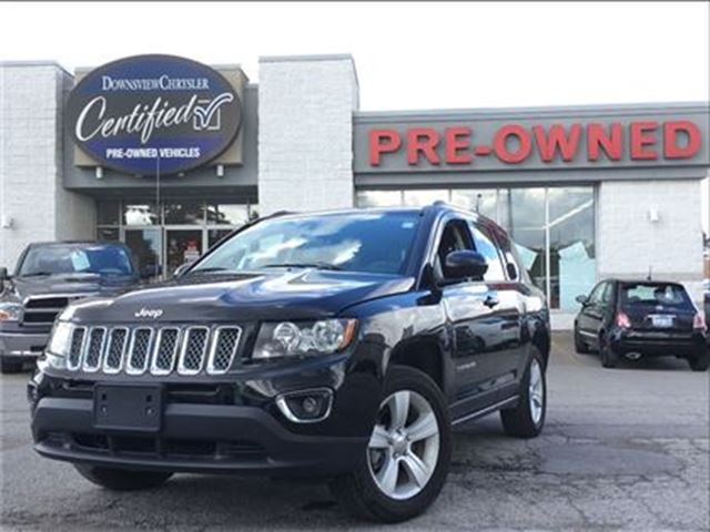 2016 JEEP COMPASS High Altitude..$146 b/w+hst..$0 down..96m..4.9% in Toronto, Ontario