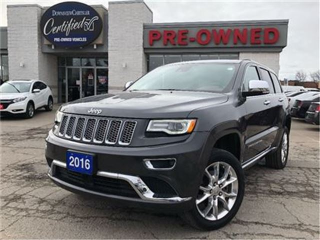 2016 JEEP Grand Cherokee Summit.   CO JEEP   FULLY LOADED   DVD in Toronto, Ontario