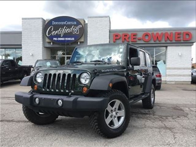 2010 JEEP WRANGLER Unlimited Rubicon..$244 b/w+hst..$0 down..60m..4.9% in Toronto, Ontario