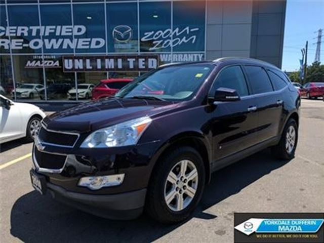 2010 Chevrolet Traverse 1LT / BACK UP CAM / 7 PASSENGER / AWD!!! in Toronto, Ontario