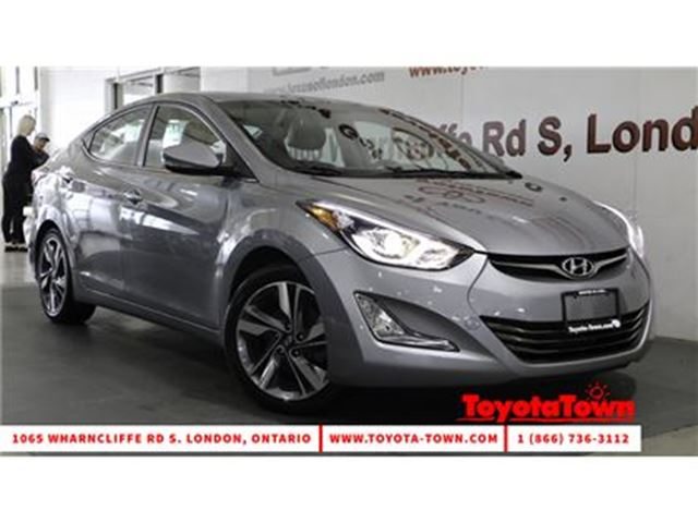 2015 HYUNDAI ELANTRA LIMITED LEATHER NAVIGATION MOONROOF in London, Ontario