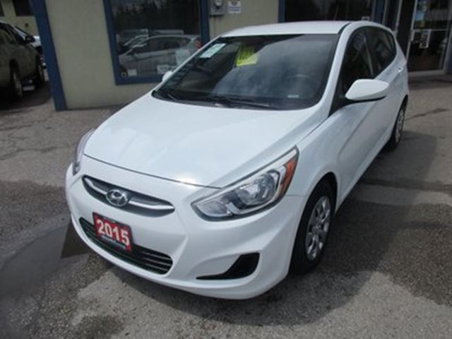 2015 Hyundai Accent LOADED GLS - HATCH EDITION 5 PASSENGER 1.6L - D in Bradford, Ontario