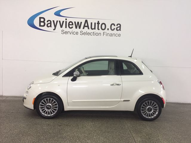 2013 FIAT 500L LOUNGE- 5 SPD! SUNROOF! LEATHER! BEATS! CRUISE! in Belleville, Ontario