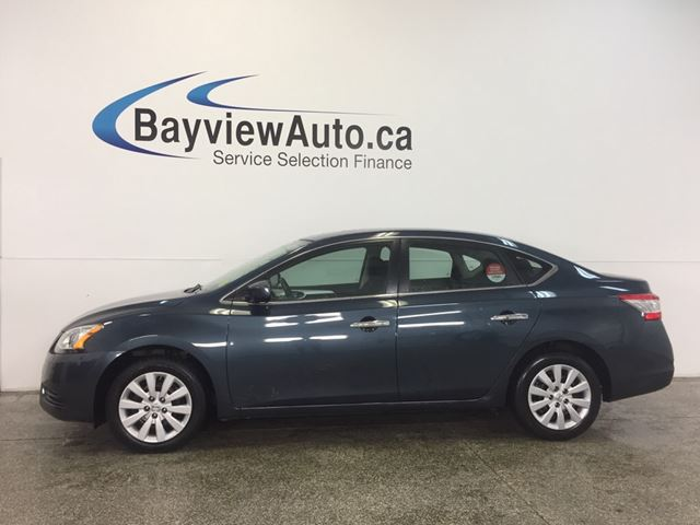 2015 NISSAN SENTRA - 1.8L! AUTO! SPORT MODE! BLUETOOTH! A/C! CRUISE! in Belleville, Ontario