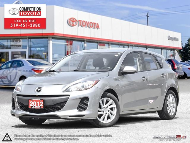 2012 MAZDA MAZDA3 GX One Owner, No Accidents in London, Ontario