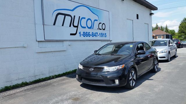 2012 Kia Forte Koup 2.4L SX Luxury in North Bay, Ontario