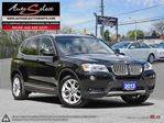 2013 BMW X3 xDrive28i AWD ONLY 85K! **TECHNOLOGY PKG** EXECUTIVE PKG in Scarborough, Ontario