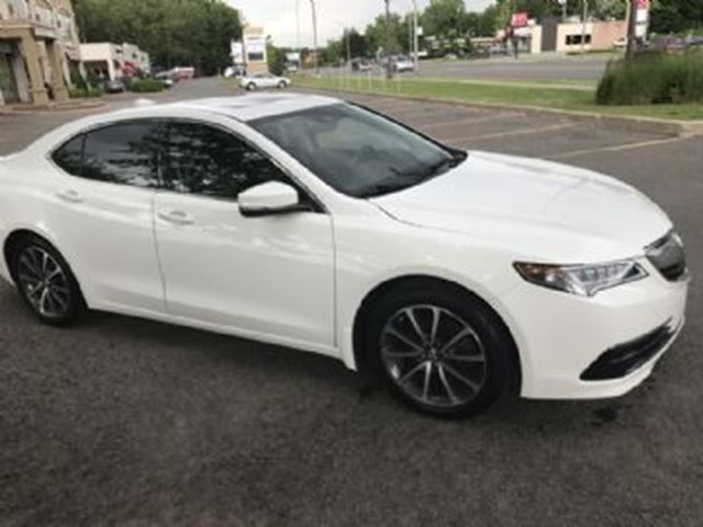 2015 ACURA TLX SH AWD TECH w/ Excess Wear Protection in Mississauga, Ontario