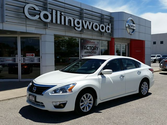 2014 NISSAN ALTIMA 2.5 S *1 OWNER* in Collingwood, Ontario