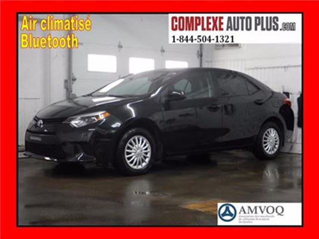 2014 Toyota Corolla *A/C, Bluetooth, Cruise, Grp élec. in Saint-Jerome, Quebec